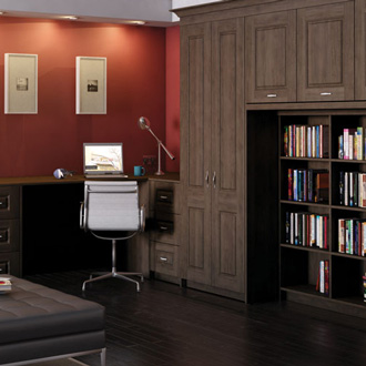 Link to fitted furniture and storage for home office, lounge and other areas